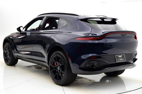 New 2021 Aston Martin DBX for sale $205,286 at Bentley Palmyra N.J. in Palmyra NJ 08065 4