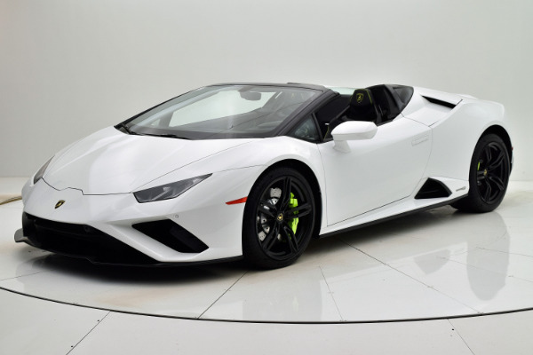 Used Used 2020 Lamborghini Huracan EVO Spyder RWD for sale $305,880 at Bentley Palmyra N.J. in Palmyra NJ