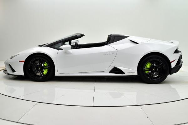 Used 2020 Lamborghini Huracan EVO Spyder RWD for sale Sold at Bentley Palmyra N.J. in Palmyra NJ 08065 3