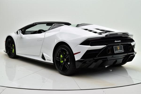 Used 2020 Lamborghini Huracan EVO Spyder RWD for sale Sold at Bentley Palmyra N.J. in Palmyra NJ 08065 4