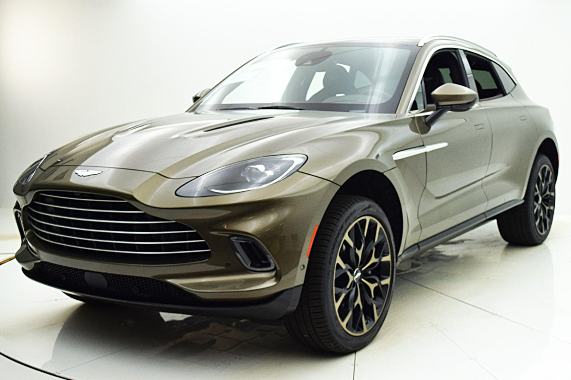 New 2021 Aston Martin DBX for sale $201,586 at Bentley Palmyra N.J. in Palmyra NJ 08065 2