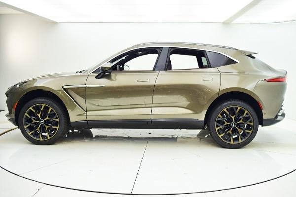 New 2021 Aston Martin DBX for sale $201,586 at Bentley Palmyra N.J. in Palmyra NJ 08065 3