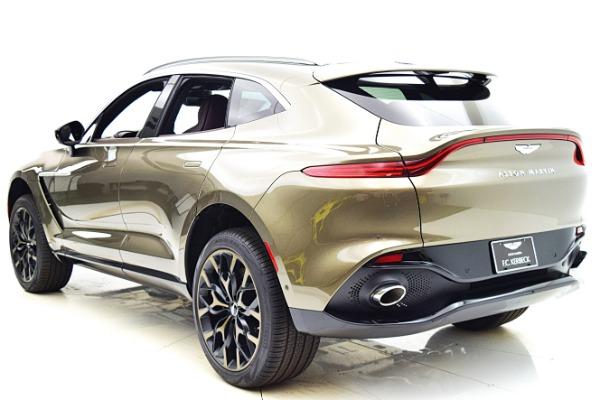 New 2021 Aston Martin DBX for sale $201,586 at Bentley Palmyra N.J. in Palmyra NJ 08065 4