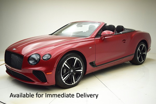 Used Used 2021 Bentley Continental GT V8 Convertible for sale $284,520 at Bentley Palmyra N.J. in Palmyra NJ