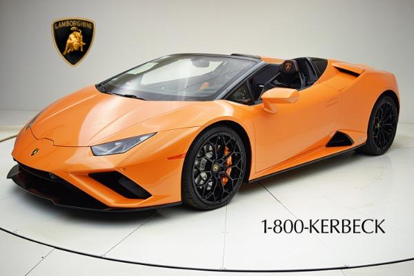 Used 2020 Lamborghini Huracan EVO Spyder RWD for sale $319,880 at Bentley Palmyra N.J. in Palmyra NJ 08065 2