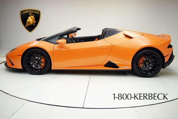 Used 2020 Lamborghini Huracan EVO Spyder RWD for sale $319,880 at Bentley Palmyra N.J. in Palmyra NJ 08065 3