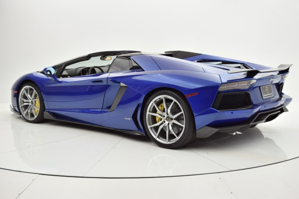 Used 2014 Lamborghini Aventador Roadster for sale Sold at F.C. Kerbeck Bentley Palmyra N.J. in Palmyra NJ 08065 4