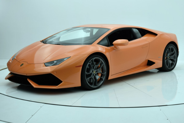 Used 2016 Lamborghini Huracan LP 610-4 Coupe for sale Sold at Bentley Palmyra N.J. in Palmyra NJ 08065 2