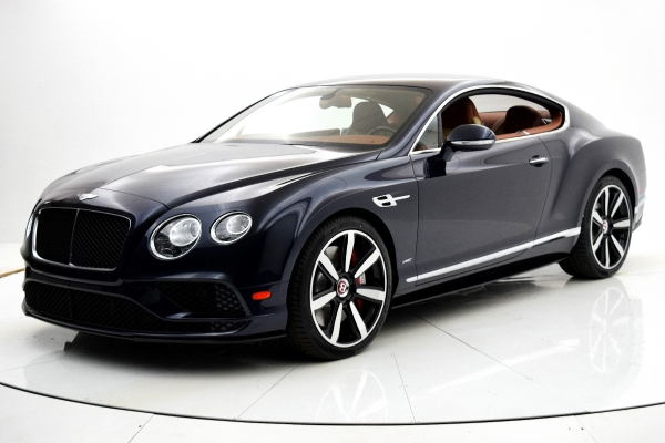 Used Used 2016 Bentley Continental GT V8 S Coupe for sale $139,880 at F.C. Kerbeck Bentley Palmyra N.J. in Palmyra NJ