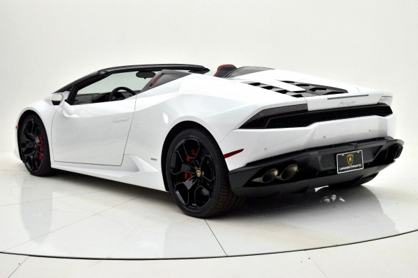 Used 2016 Lamborghini Huracan LP 610-4 Spyder for sale Sold at F.C. Kerbeck Bentley Palmyra N.J. in Palmyra NJ 08065 4