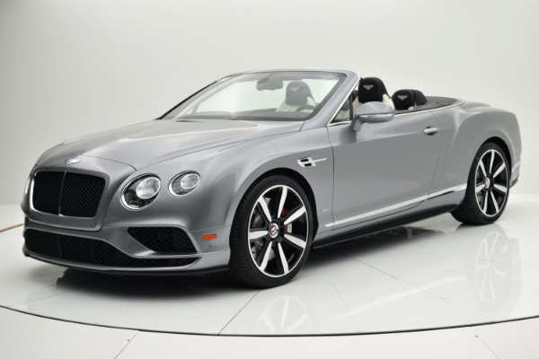 Used Used 2016 Bentley Continental GT V8 S Convertible for sale $164,880 at F.C. Kerbeck Bentley Palmyra N.J. in Palmyra NJ