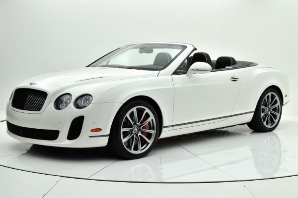 Used Used 2012 Bentley Continental Supersports Convertible for sale <s>$296,175</s> | <span style='color: red;'>$107,880</span> at F.C. Kerbeck Bentley Palmyra N.J. in Palmyra NJ