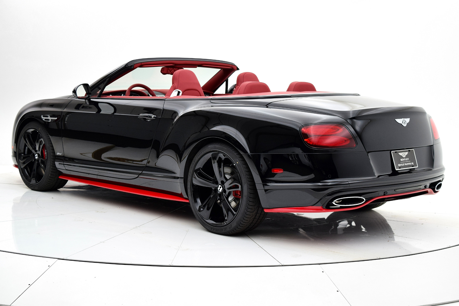 New 2017 Bentley Continental Gt Speed Convertible Black Edition For Sale Special Pricing Bentley Palmyra N J Stock 17be131