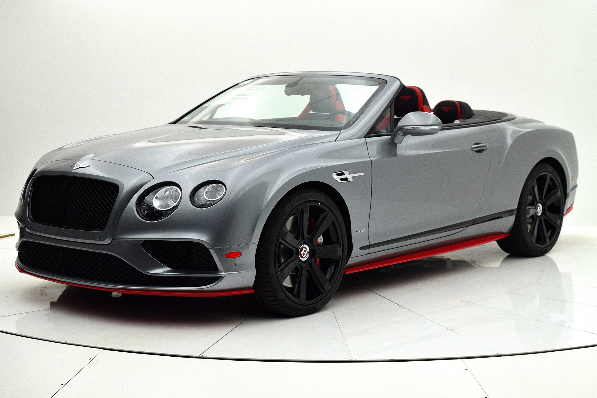 Used 2017 Bentley Continental Gt V8 S Convertible Black Edition For Sale 189 880 Bentley Palmyra N J Stock 17be159