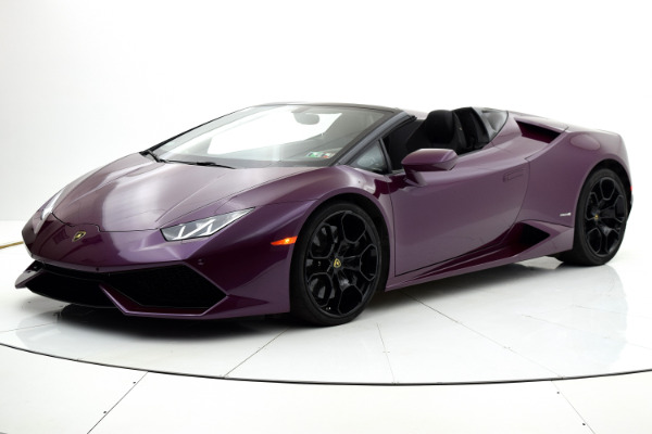 Used Used 2016 Lamborghini Huracan LP 610-4 Spyder for sale $209,880 at F.C. Kerbeck Bentley Palmyra N.J. in Palmyra NJ