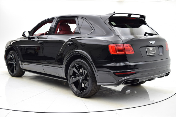 Used 2018 Bentley Bentayga Black Edition for sale $164,880 at Bentley Palmyra N.J. in Palmyra NJ 08065 4