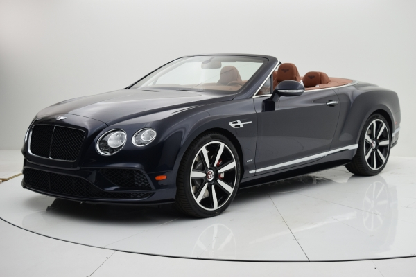 Used 2016 Bentley Continental GT V8 S Convertible for sale Sold at Bentley Palmyra N.J. in Palmyra NJ 08065 2