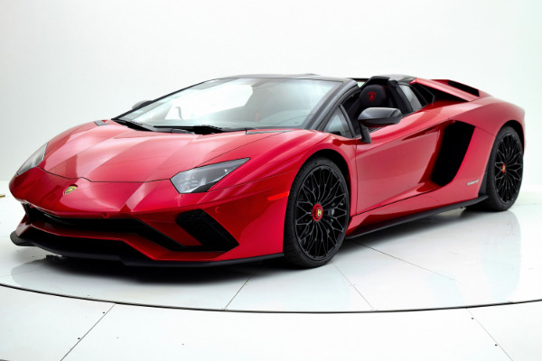 Used Used 2018 Lamborghini Aventador S Roadster for sale <s>$525,772</s> | <span style='color: red;'>$379,880</span> at F.C. Kerbeck Bentley Palmyra N.J. in Palmyra NJ