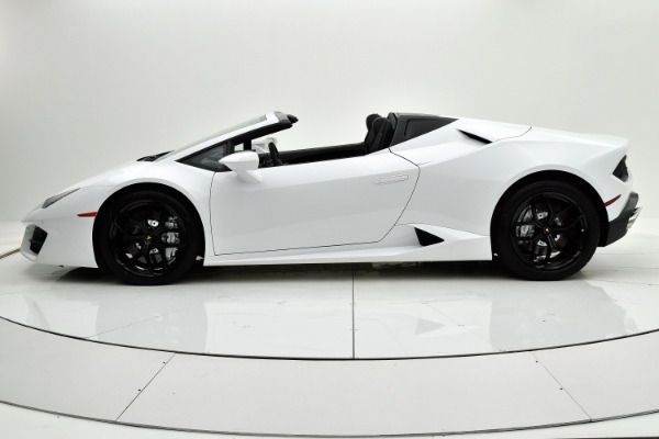 Used 2018 Lamborghini Huracan LP580-2 Spyder for sale $229,880 at Bentley Palmyra N.J. in Palmyra NJ 08065 3