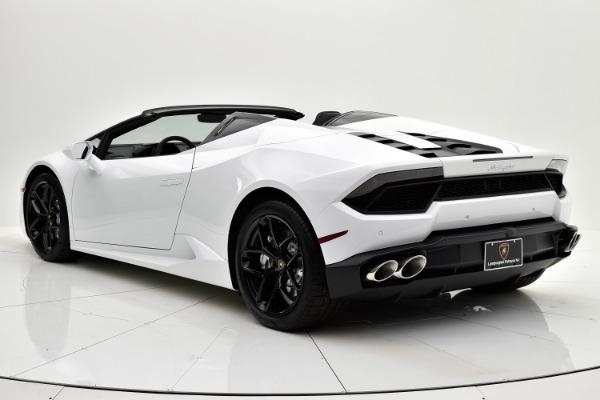 Used 2018 Lamborghini Huracan LP580-2 Spyder for sale $229,880 at Bentley Palmyra N.J. in Palmyra NJ 08065 4