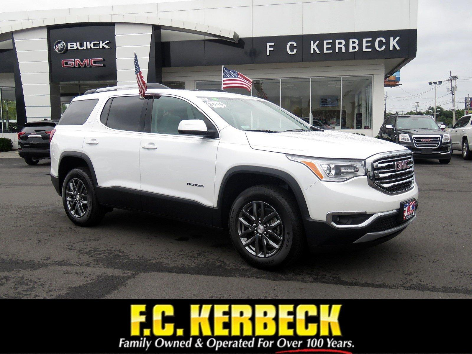 New 2019 GMC Acadia SLT for sale $43,365 at F.C. Kerbeck Bentley Palmyra N.J. in Palmyra NJ 08065 1