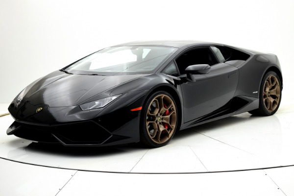 Used 2015 Lamborghini Huracan LP610-4 Coupe for sale $194,880 at F.C. Kerbeck Bentley Palmyra N.J. in Palmyra NJ 08065 2
