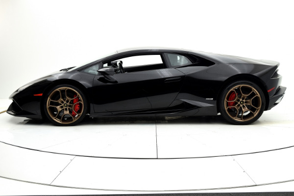 Used 2015 Lamborghini Huracan LP610-4 Coupe for sale $194,880 at F.C. Kerbeck Bentley Palmyra N.J. in Palmyra NJ 08065 3